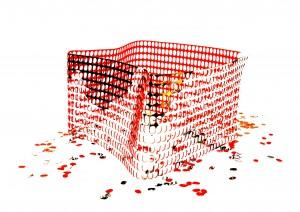 Temporary Fence. Graham Guy-Robinson